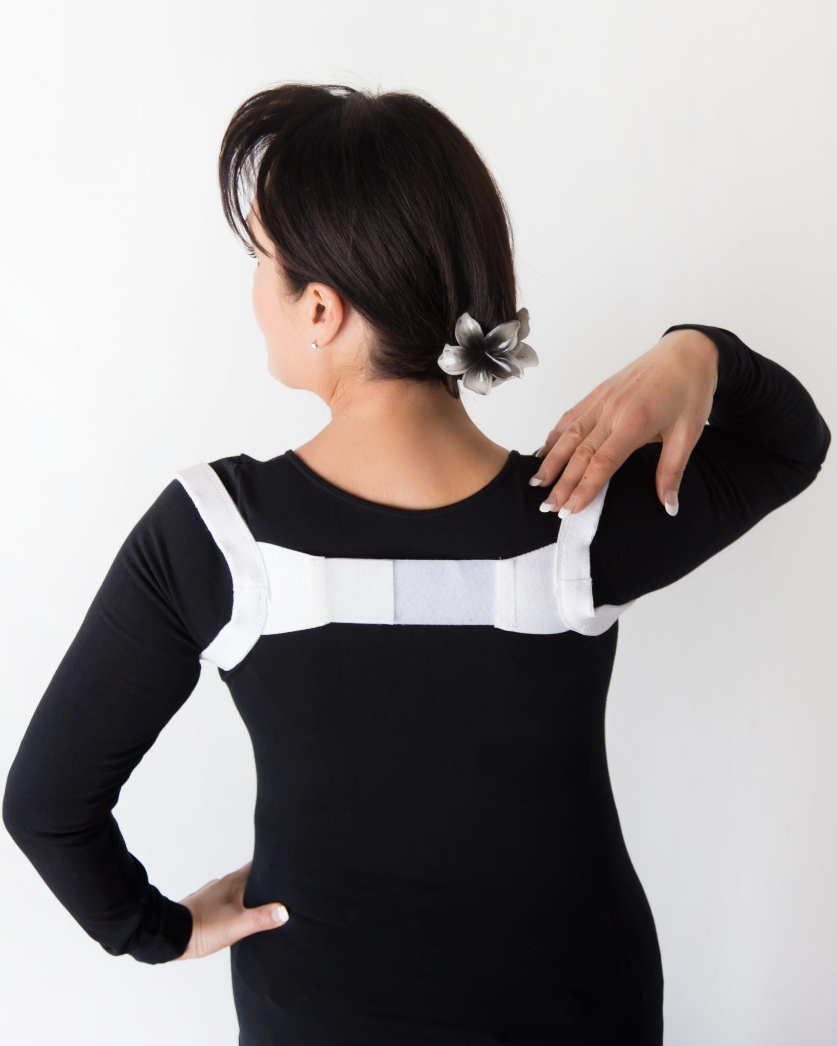 white-posture-brace
