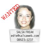 Edie, The Salsa FREAK Testimonials - Salsa Curriculum and Instructor Training and Certification