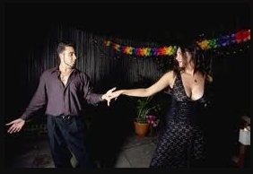 Learn to Salsa dance with Edie, The Salsa FREAK!!